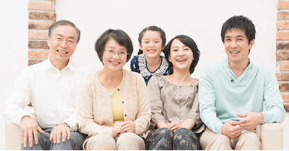 岡山で証明写真・記念写真・就活写真ならフタバ写真場 家族写真