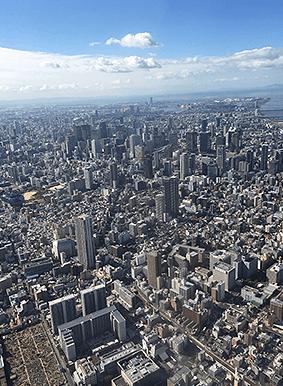 岡山で証明写真・記念写真・就活写真ならフタバ写真場 ドローンを用いた空撮